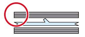 両面加熱のシール機を使用